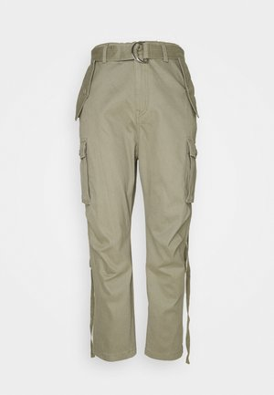 PANTS - Cargobroek - moss green