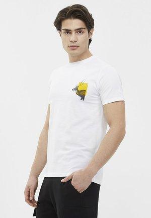 DEER - T-shirt print - white