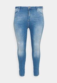 ONLY Carmakoma - CARLAOLA LIFE - Skinny džíny - special bright blue denim - 3