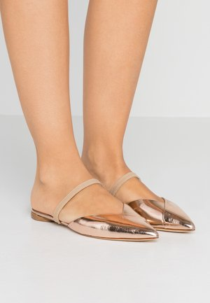 NURIA - Mules - or rose