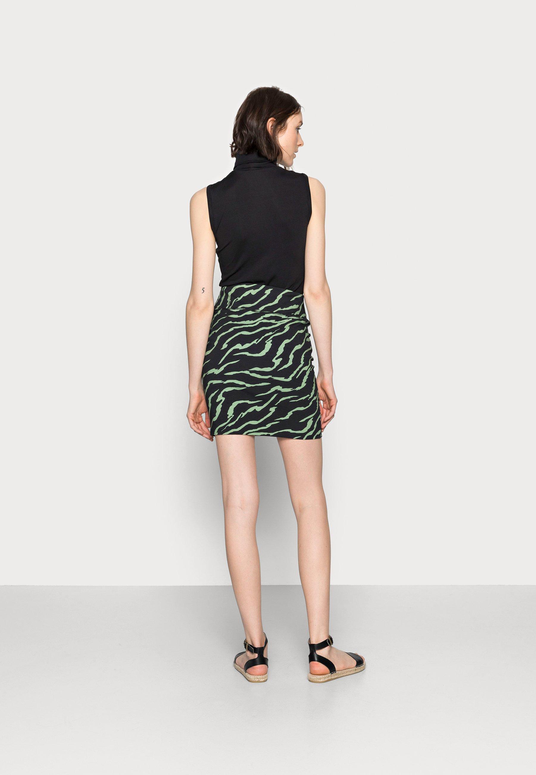 Mujer ZABIA PENNY SKIRT - Minifalda