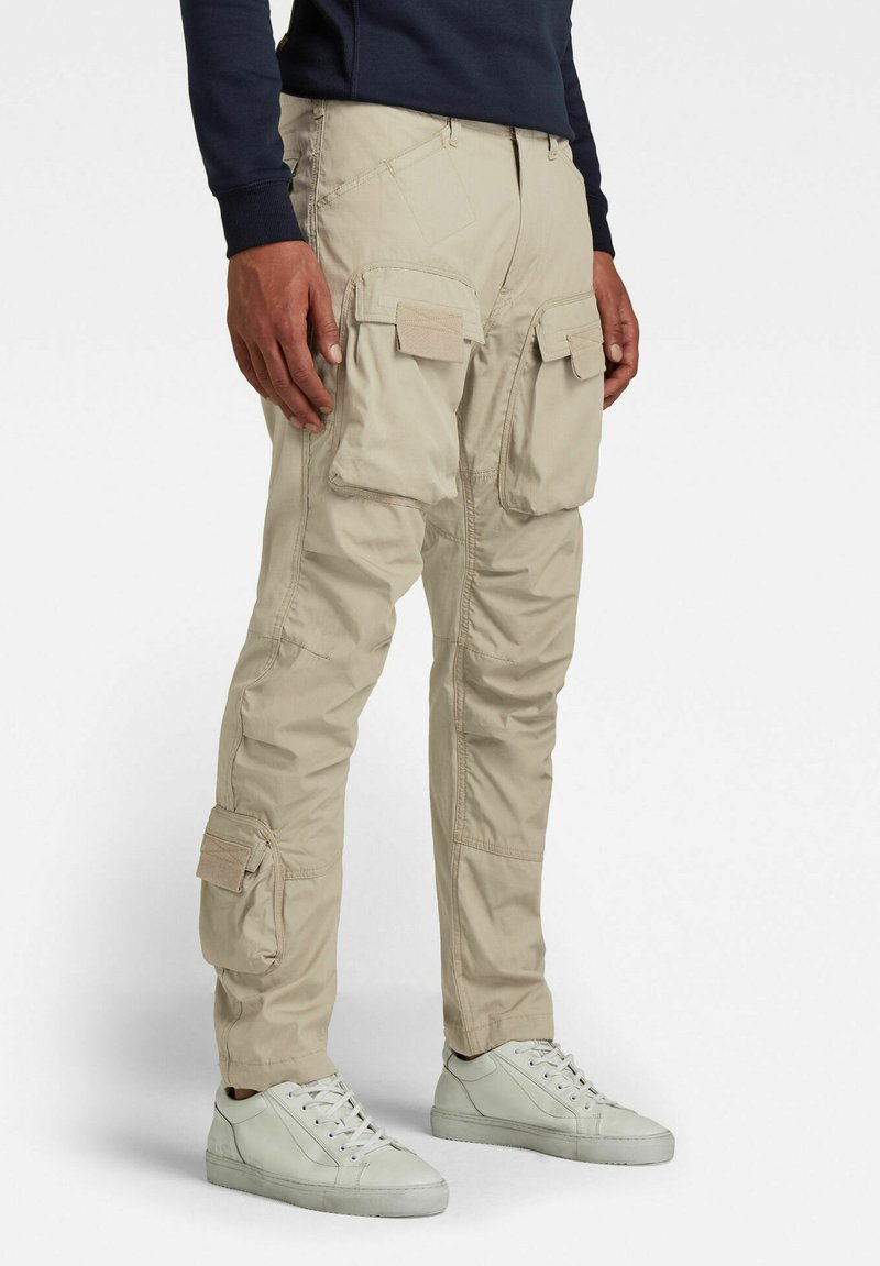 G-Star - STRAIGHT TAPERED  - Cargo trousers - light toggee
