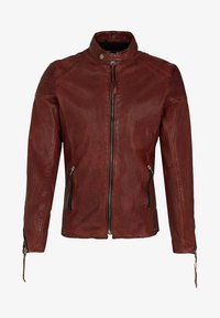 Tigha - FRANKLYN - Leather jacket - dark red - 4