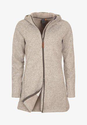 Fleece jacket - khaki - khaki