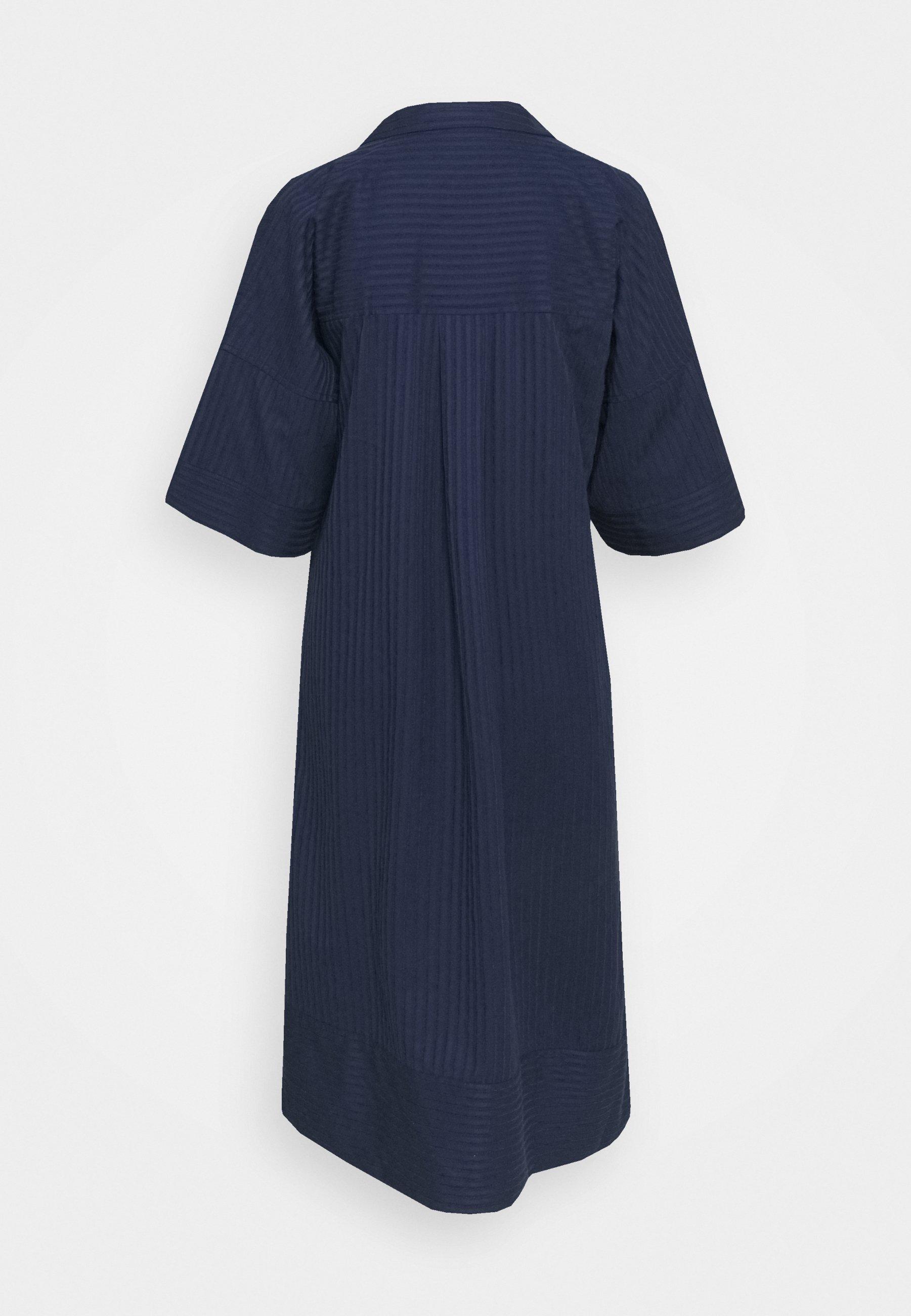 Women TEXTURED SHIRT DRESS - Day dress