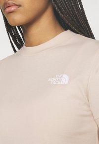 The North Face - TEE DRESS - Jersey dress - pink tint - 5