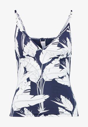 TANKIN - Bikini top - mood indigo