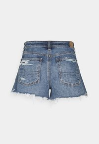 American Eagle - FESTIVAL  - Denim shorts - medium wash - 1
