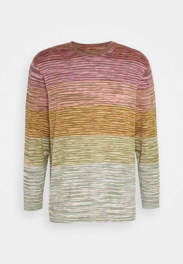 MAGLIA MANICA LUNGA GIROCOLLO - Pitkähihainen paita - multi-coloured