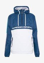 STREETSPORT OVERHEAD JACKET - Windbreakers - beechwater blue