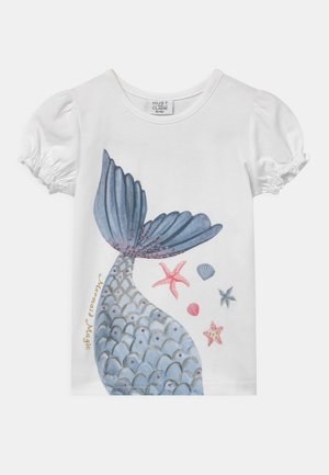 AYLA - Camiseta estampada - white