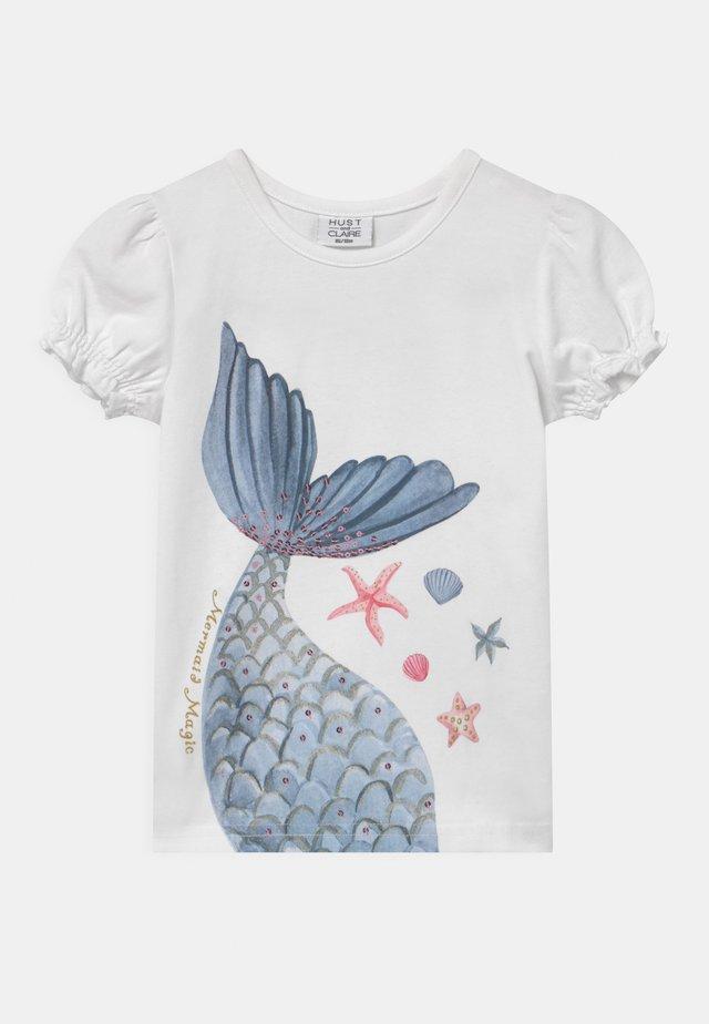 AYLA - T-shirt print - white