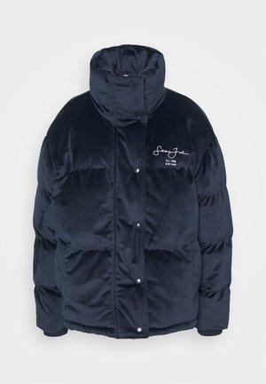 SJXMG OVERSIZED PUFFER COAT - Winter jacket - navy