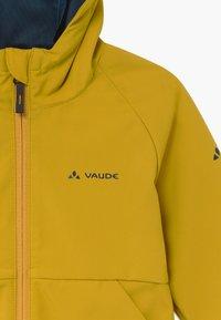 Vaude - KINICH UNISEX - Soft shell jacket - marigold - 3