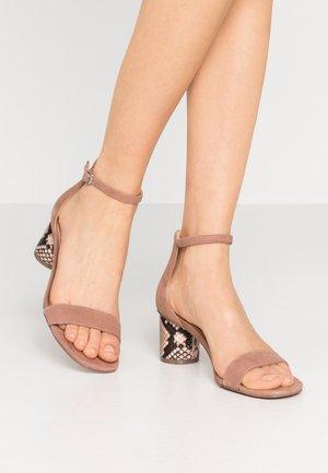 REGARD - Sandals - mauve