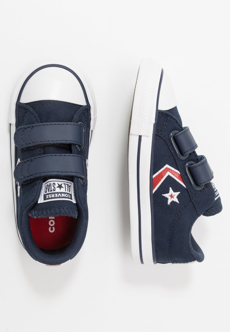 Converse - STAR PLAYER EMBROIDERED - Sneakers basse - obsidian/university red/white