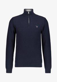 GANT - Stickad tröja - marine (52) - 0