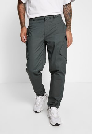 Cargo trousers - legend ivy