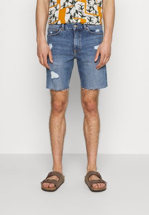 CLARK - Jeansshorts - creek mid blue