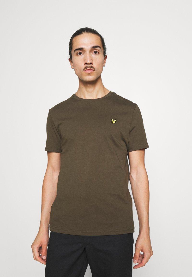 Lyle & Scott - PLAIN - T-shirt - bas - olive