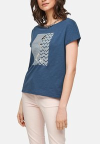 s.Oliver - Print T-shirt - faded blue - 4
