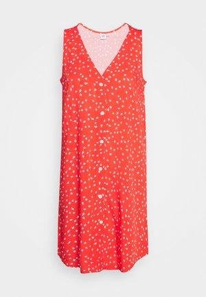 DRESS - Denní šaty - red ditsy