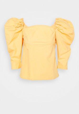 ANITA BLOUSE - Blůza - blend yellow
