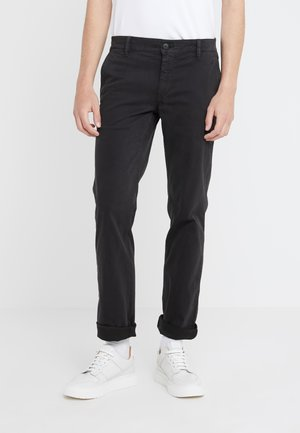 REGULAR FIT - Stoffhose - black