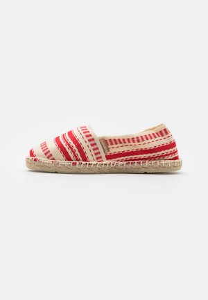 CLASSIC ZICK ZACK UNISEX - Loafers - rouge
