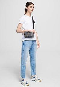 KARL LAGERFELD - FOREVER KARL - Print T-shirt - white - 1