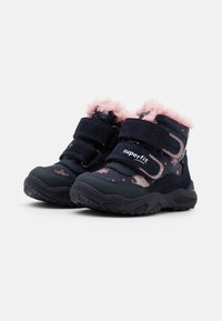 Superfit - GLACIER - Winter boots - blau/rosa - 1