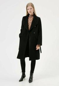 HUGO - MILEA - Classic coat - black - 1