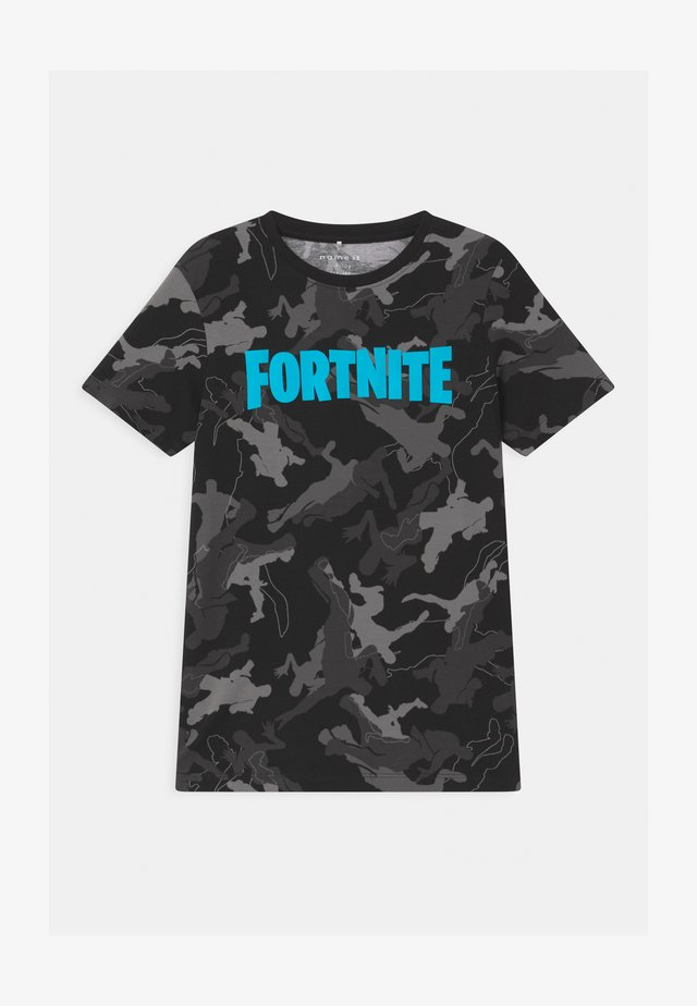 NKMFORTNITE - T-shirts print - black
