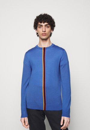 GENTS CREW NECK - Pullover - bright blue