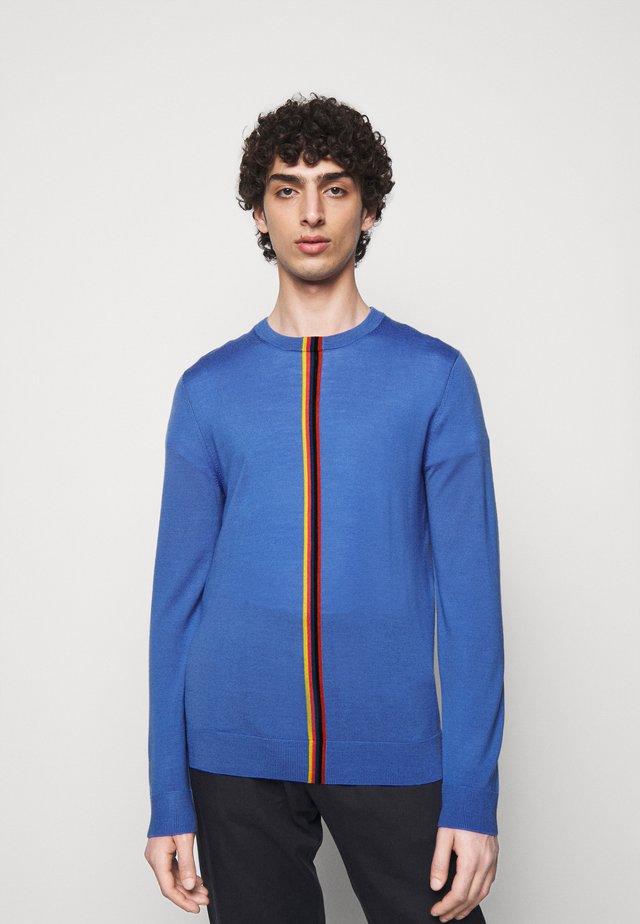 GENTS CREW NECK - Sweter - bright blue