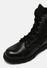 Belstaff - STORM - Lace-up ankle boots - black - 6