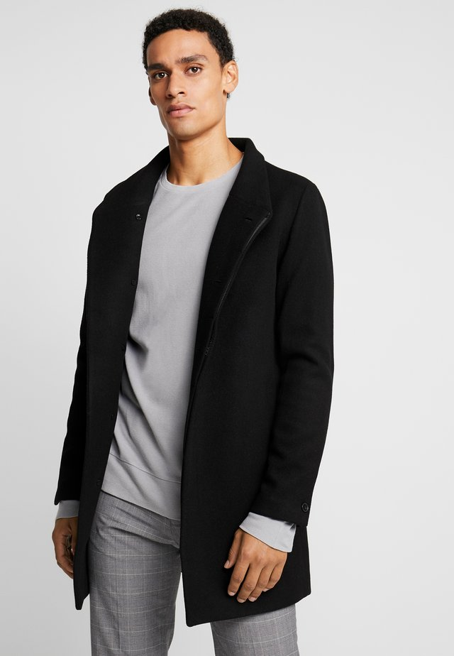 JPRCOLLUM - Short coat - black