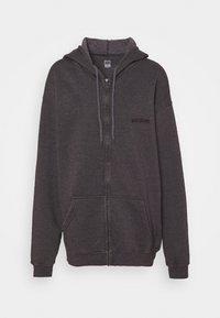 BDG Urban Outfitters - ZIP THROUGH HOODIE - Sweat à capuche zippé - grape - 3