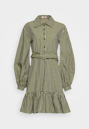 TEX DRESS - Shirt dress - sulphur spring