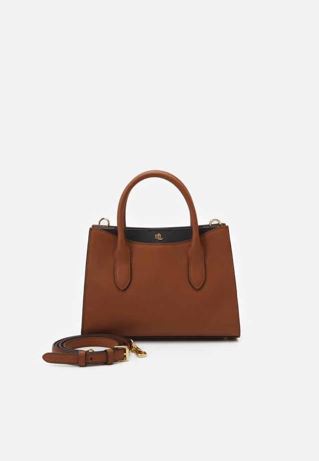 CROSSHATCH EMERY - Handtas - tan/black