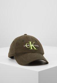 Calvin Klein Jeans - MONOGRAM - Czapka z daszkiem - green - 0