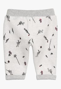 Noppies - PANTS REGULAR CALEDONIA BABY - Teplákové kalhoty - grey melange - 1
