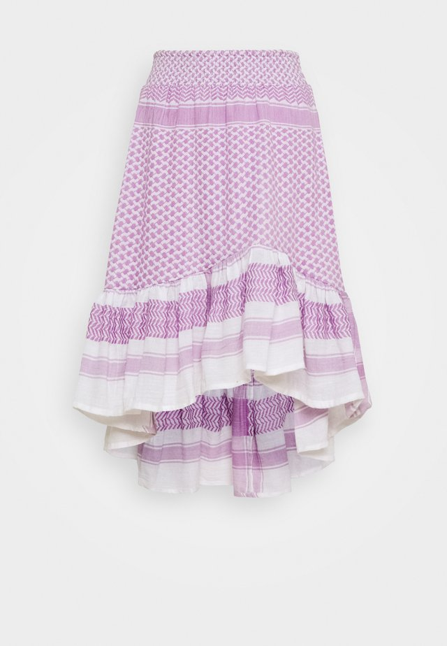 STINNE - A-snit nederdel/ A-formede nederdele - purple