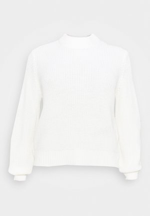NMTOMMY HIGH NECK - Jumper - sugar swizzle