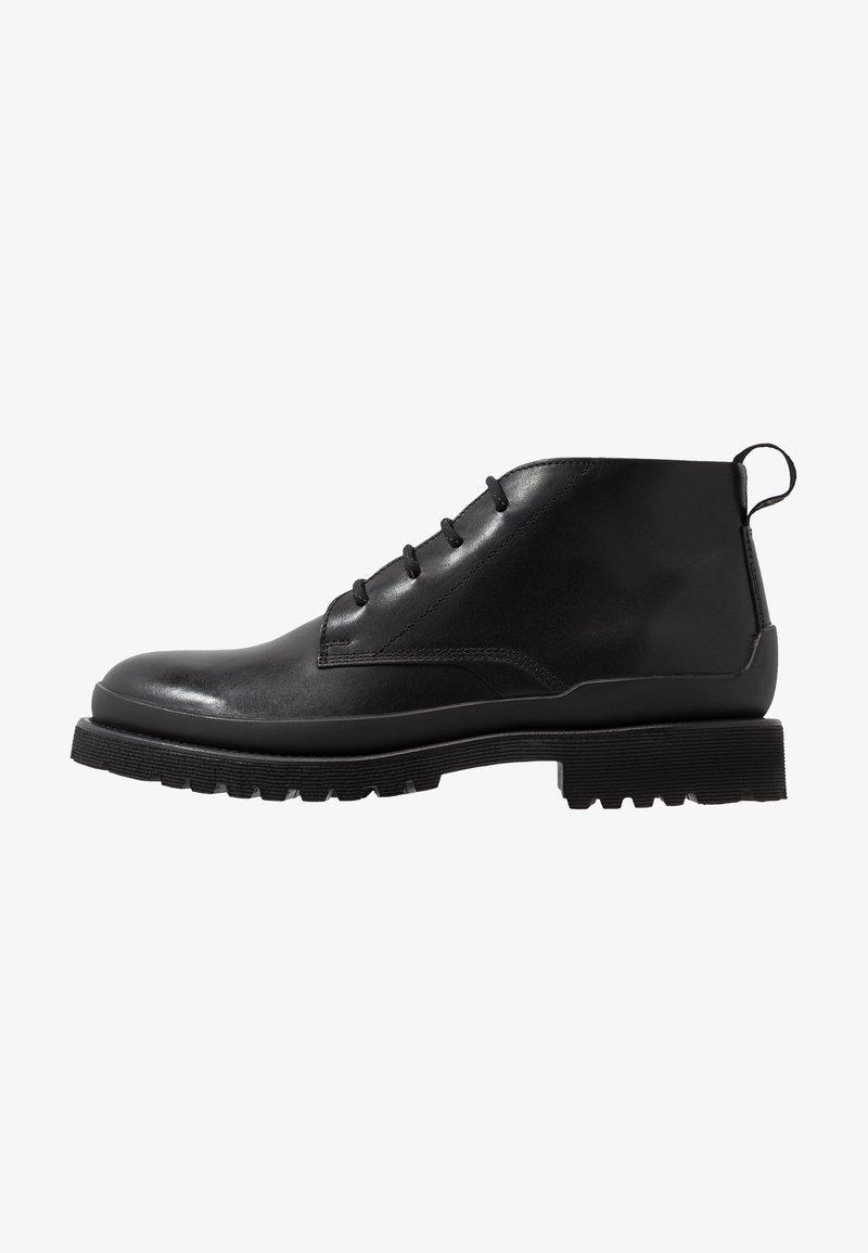 HUGO - ADVENTURER - Šněrovací boty - black