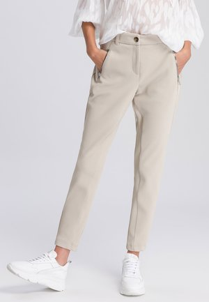 Trousers - light camel