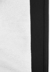 Solid - BenjaminZip Pile - Zip-up hoodie - black pil - 6