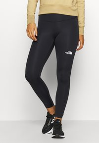 The North Face - ACTIVE TRAIL HIGH RISE WAIST PACK - Leggings - black - 0