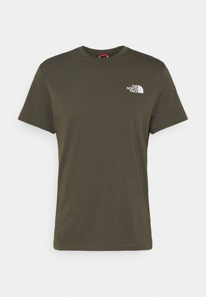 MENS SIMPLE DOME TEE - T-shirt - bas - new taupe green