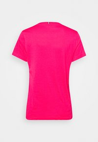 Tommy Hilfiger - CREW NECK GRAPHIC TEE - T-shirts print - bright jewel - 7